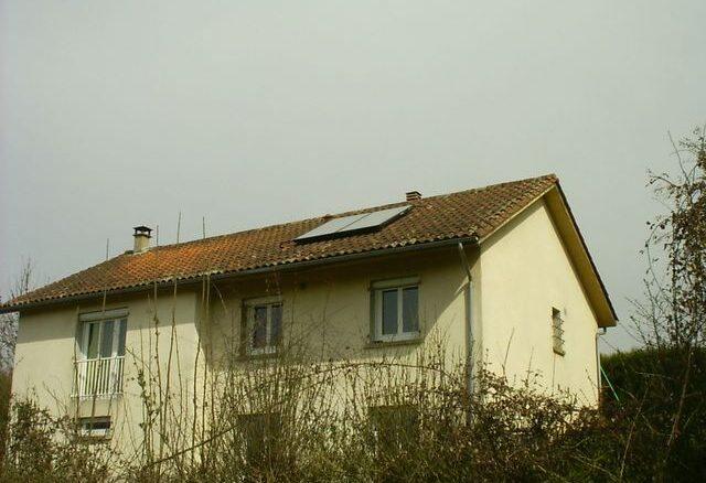 Installation solaire en toiture