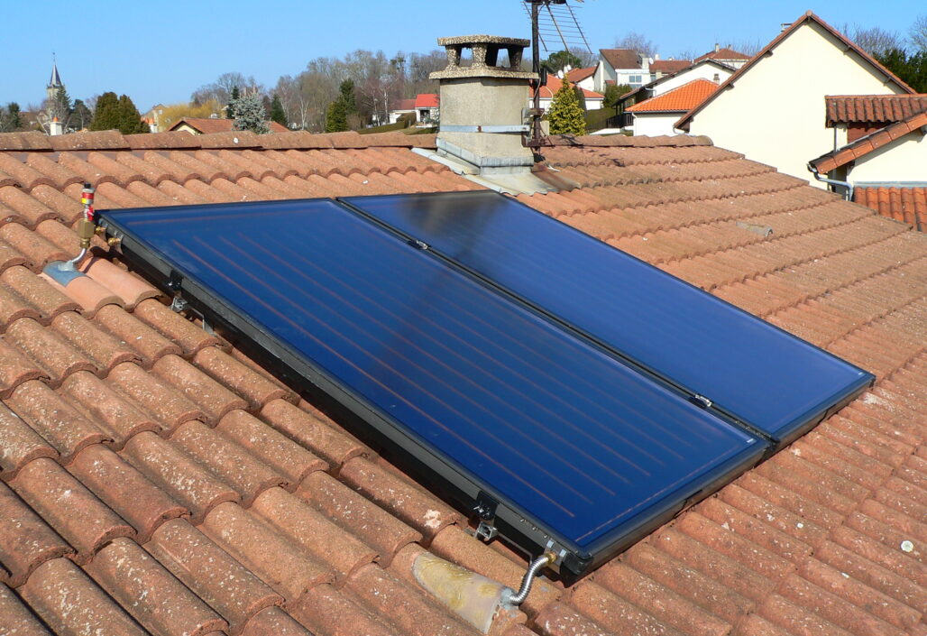 2 capteurs solaires Budérus SKS 3.0