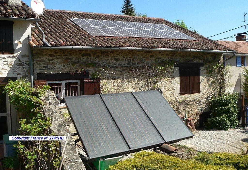 Chauffe eau solaire +Photovoltaïque
