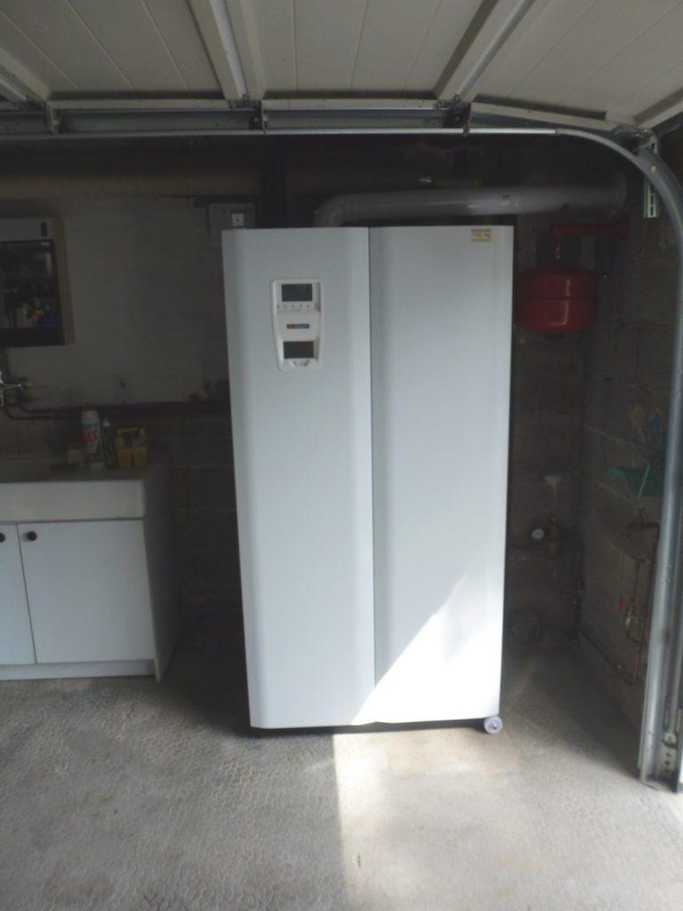 Chaudière hybride solaire / gaz propane FRISQUET
