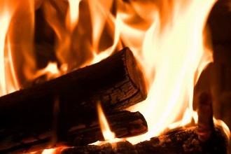 flammes bois