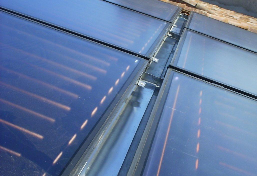 Système solaire combiné Budérus sur cardes zinc: 13.20 m2