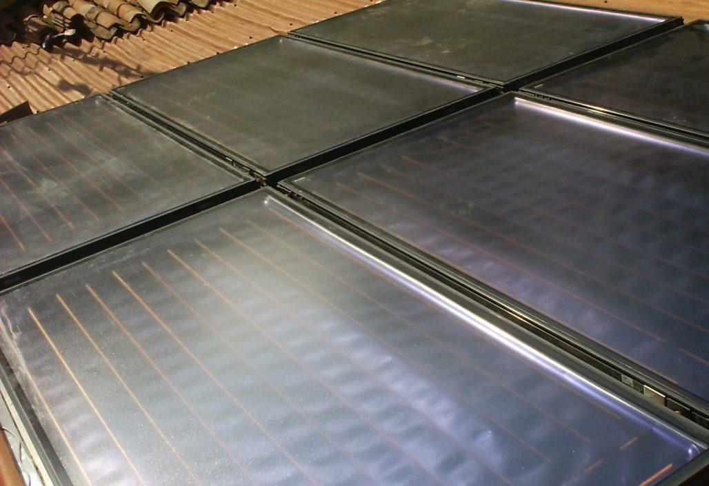 13.20 m² de panneaux solaires pour chauffage solaire SSC