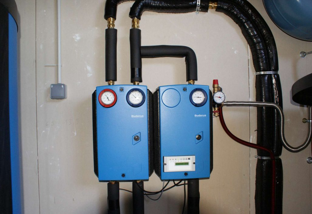 Coffret régulation chauffage et eau chaude sanitaire