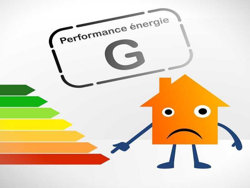 Energie : étiquette G
